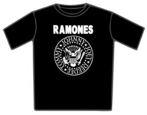 Ramones Hey Ho Lets Go Black T-Shirt